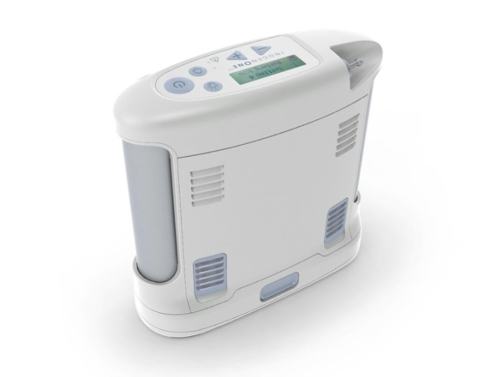 3.- Concentrador de Oxígeno Portátil