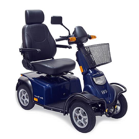 1.- Scooter Minicrosser Medema M14W