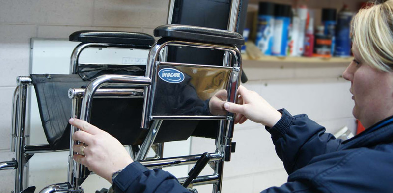 Service of repair and maintenance of wheelchairs in Gran Canaria